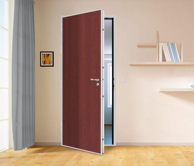 porte d'entrée ouverte