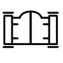 icone porte de garage connecté