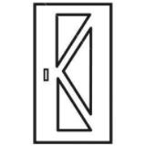 icone porte d'entrée sécurisée