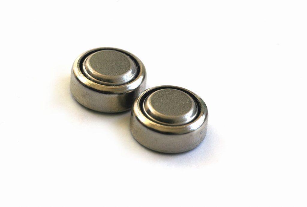 piles boutons