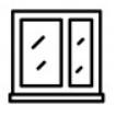 icone baie vitrée